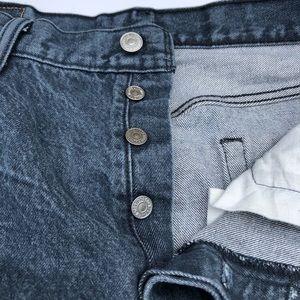 Levi's 501s Button Fly 36x32 100% Cotton
